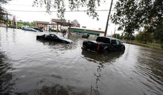Flooded cars in Norfolk, Virginia, after heavy rains and high tides from the remnants of Hurricane Matthew in (Steve Earley/The Virginian-Pilot via AP) The Virginian, Naval Station Norfolk, Norfolk House, Hurricane Matthew, Natural Disasters, Climate Change, Environment, United States