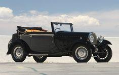 1930 Bugatti Type 49 Cabriolet