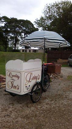 vintage ice cream bike, retro bicycle, business, cateri...