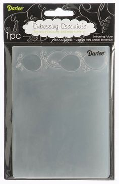 Darice-Embossing Folder- (Size A2) - Balloons