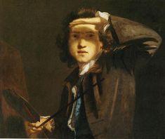 Joshua Reynolds. Autorretrato. 1747-48, National Portrait Gallery, Londres