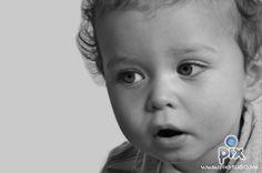 fotografía, bebe, retrato