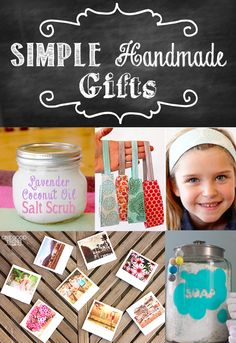 31 Simple Handmade Gifts! The series continues! PLUS, an Amazon Gift Card Giveaway!