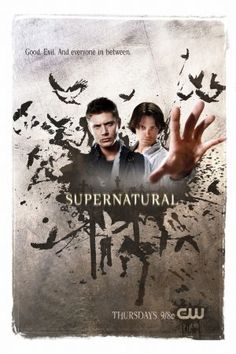 """US poster for """"Supernatural"""""""