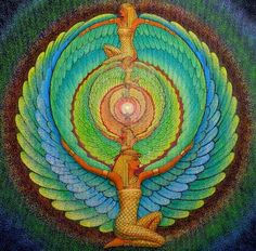 Magie d'ISIS mandala spirituelle déesse par HalstenbergStudio                                                                                                                                                                                 Plus