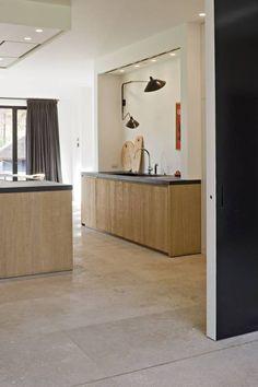 #Italiaanse Travertin - Opkamer travatin vloer - #Natuursteen - Italiaanse #Travertin ideeën   de-opkamer.nl