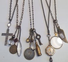 Love these necklace by Lisa Jill Jewelry