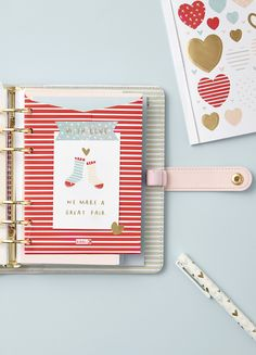 We love this pretty pink planner and decoration ideas.