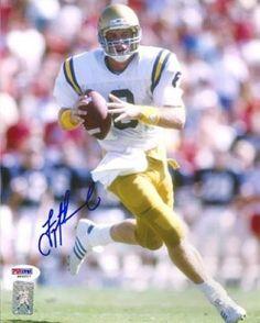 Sports Mem, Cards & Fan Shop Motivated Brett Hundley Signed Football Ucla Green Bay Packers Coa Autograph Signature