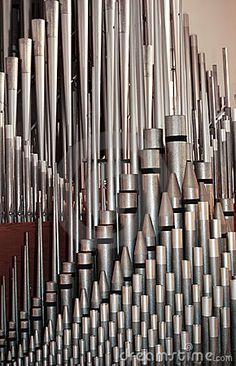 Pipe organ chamber...amazing sound...not electronic!