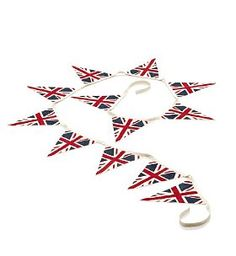 Buy the Union Jack Bunting from Marks and Spencer's range. Womens Institute, Doctor Who Christmas, Royal Tea, Merry Little Christmas, Christmas Tree, Home Trends, Union Jack, Bunting, Special Day