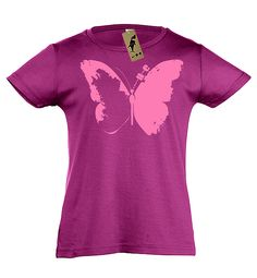 je-devore-ma-bretagne-t-shirt-fille-papillon Tee Shirts, Tees, V Neck, Collection, Women, Fashion, Brittany, Moda, T Shirts