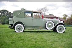 Miss Tallulah LaBelle's chauffeur-driven 1924 Packard Single Eight.