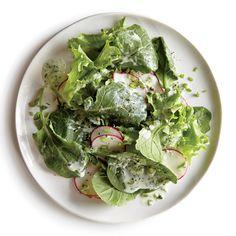 Cilantro-Kale Salad with Buttermilk Dressing | MyRecipes