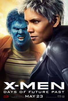 Storm and Beast bridge time in the latest poster for X-Men: Days of Future Past.
