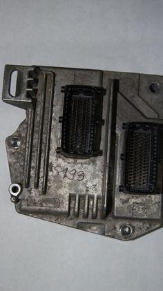OPEL VAUXHALL ASTRA ZAFIRA - ENGINE ECU - FAHF 12230740 - PIN CODE INCLUDED