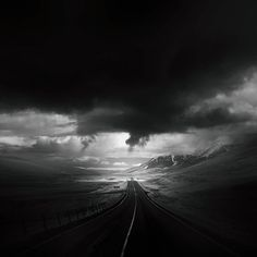 "Throughout his travels, Andy Lee has taken a lot of pictures of beautiful and forlorn roads around the world. Now, this creative director, filmmaker, painter, doodler and photographer (and we can probably also add ""renaissance man"" to the list) has collected these photos in an amazing series called ""Roads"" that will fill you with wanderlust."