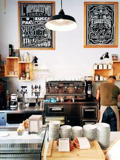 Cafe Pave, Milan.
