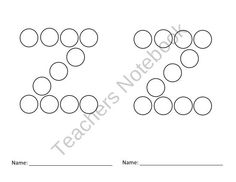 Bingo Dotting Lowercase Alphabet Letters from Preschool Printables Place on TeachersNotebook.com (26 pages)  - Dotting Lowercase alphabet letter set. 26 pages for only $5.00.