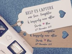 Personalised Favour Gift Tags For Disposable by GREENFOXYtags
