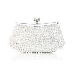 Handbags - $29.39 - Elegant Silk with Pearls Evening Handbag/Clutches (012012258) http://jjshouse.com/Elegant-Silk-With-Pearls-Evening-Handbag-Clutches-012012258-g12258