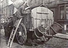 London dust cart, 1910