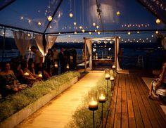 Sugestões para Cerimônia - Havan  #cerimônia #casamento #noite