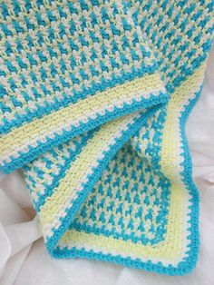 Ashley s Baby Afghan Crochet Pattern : 1000+ images about Crochet : Interlocking crochet on ...