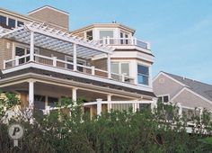 Deck Railing - multi level deck design