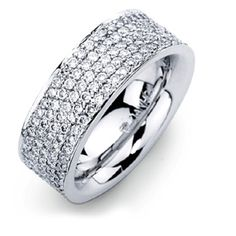 Thick Womens Wedding Bands. Petite Twisted Vine Diamond Ring (1/8 ...