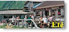 Lapisa great place to rest, fantastic views, fantastic food; a nice walk from Chalet Chalin