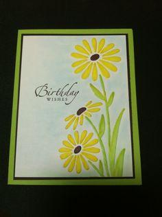 Darice daisy embossing folder