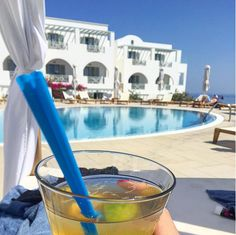 """Such a cocktail and such a great sunshine. Simply wow!"" How about joining us for a Tuesday treat by the ‪#‎pool‬ of Astro Palace Hotel & Suites?   Photo by Tanya5889 at Instagram"