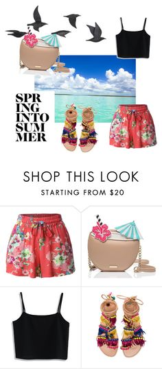 """""""love you summer"""" by martita-aki ❤ liked on Polyvore featuring LE3NO, Kate Spade, Chicwish, Elina Linardaki and Jayson Home"""