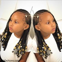 we have a big collection of braided hairstyles of kids. This post is totally about braided hairstyles for the African child. Dear parents don't be afraid we have the best collection of braided styles Box Braids Hairstyles, Black Girl Braided Hairstyles, Black Kids Hairstyles, Baby Girl Hairstyles, My Hairstyle, Fashion Hairstyles, Natural Kids Hairstyles, Toddler Hairstyles, Baddie Hairstyles