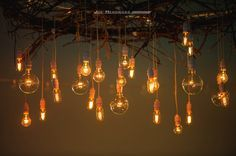 rustic chandeliers wedding - Google Search