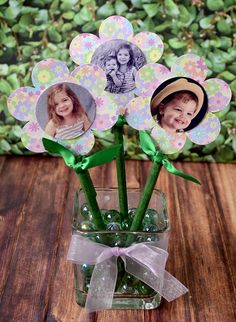 Photo Flower Pens with FREE DOWNLOAD | MyPrintly
