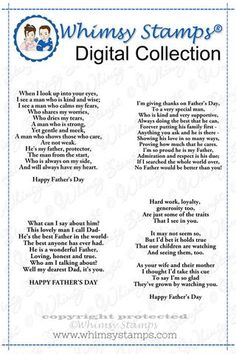Father's Day Verses