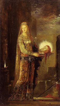 salome avec la tête de jean baptiste moreau painting