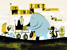 My Morning Jacket by Invisible creature