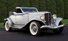 This 1933 Auburn Salon Cabriolet was fitted with a one-of-a-kind chrome hardtop by inventor Conrad Jobst, who was awarded a patent for his design in 1940. The car, once part of Tim Durham's collection, sold at auction in January 2013 for 440k.
