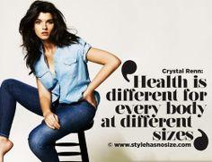 Mindenki más testalkattal egészséges.