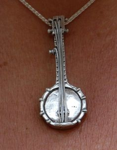 Banjo necklace by artinmetal on Etsy