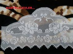 Gallery.ru / Фото #19 - jhgh - ergoxeiro Filet Crochet, Crochet Art, Crochet Doilies, Crochet Patterns, Crochet Toddler Dress, Crochet Curtains, Different Stitches, Manta Crochet, Needlework