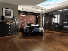 Make a statement with this sleek black gloss #bedroom. See our website for our contemporary ranges www.hartleysbedrooms.co.uk