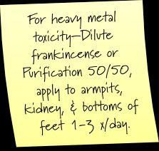 Heavy metal toxicity.                                                                                                                                                                                 More