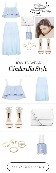 """""""Untitled #375"""" by sydney1423 on Polyvore featuring New Look, Lipsy, PATH and Tory Burch"""