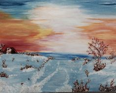 Beauty in Silence - Helen's Art Gallery | Paintings & Prints, Landscapes & Nature, Other Landscapes & Nature | ArtPal