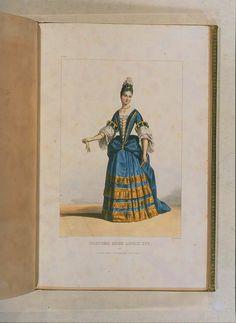 Costumes historiques de ville ou de théâtre et travestissemens - Historical Costumes of Town or Theater and Fancy Dress - Achille Devéria - Page 73