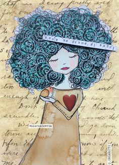 Sono un grumo di sogni. Giuseppe Ungaretti, sono un poeta. Bullet Journal Ideas Pages, Art Journal Pages, Colorful Drawings, Easy Drawings, Newspaper Art, Book Page Art, Fantasy Drawings, Illusion Art, Illustration Girl